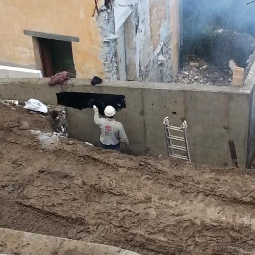 Mur de soutenement en Béton armé