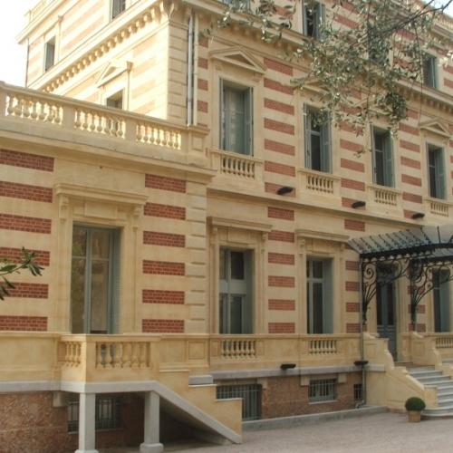 Réhabilitation du chateau des terrasses à Cap d'ail